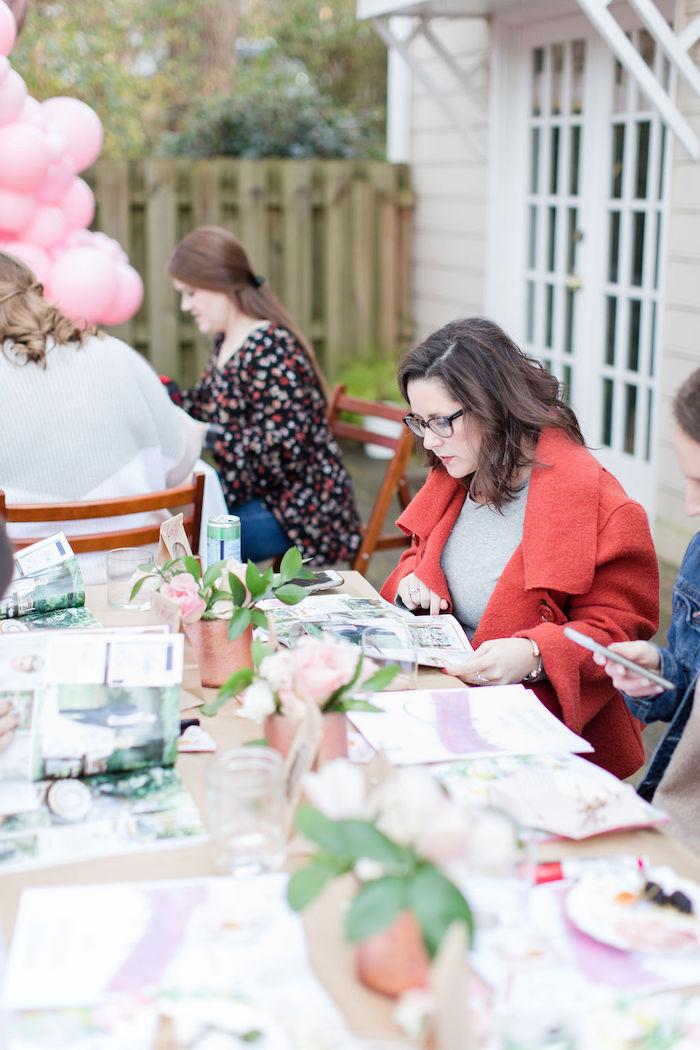 Galentine's Day Gathering Party on Kara's Party Ideas | KarasPartyIdeas.com (7)