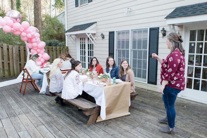 Galentine's Day Gathering Party on Kara's Party Ideas | KarasPartyIdeas.com (5)