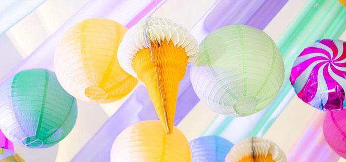 Geometric Candyland Birthday Party on Kara's Party Ideas | KarasPartyIdeas.com (4)
