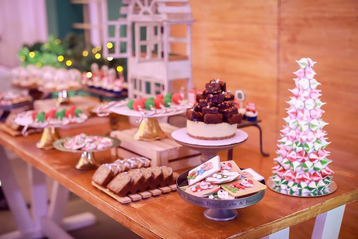 Dessert Table from a Harrods London Inspired Birthday Party on Kara's Party Ideas | KarasPartyIdeas.com (17)