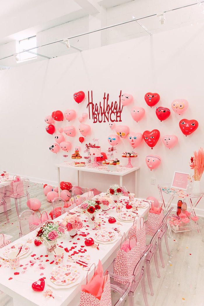 Heartbeat Brunch Valentine's Day Party on Kara's Party Ideas | KarasPartyIdeas.com (39)