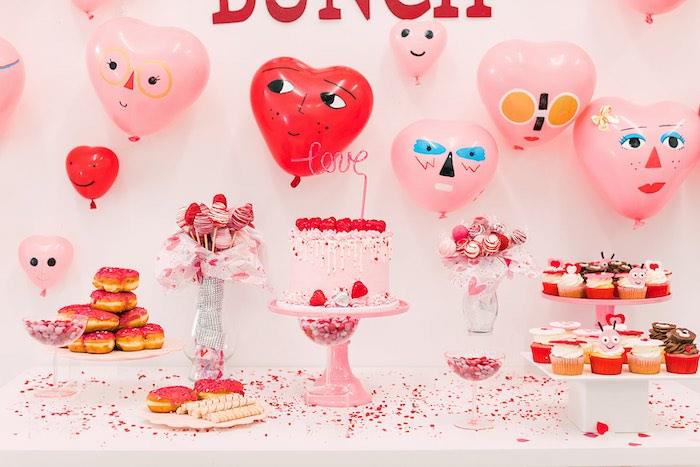 Heartbeat Brunch Valentine's Day Party on Kara's Party Ideas | KarasPartyIdeas.com (29)