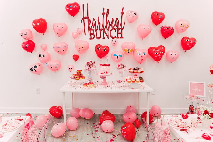 Heartbeat Brunch Valentine's Day Party on Kara's Party Ideas | KarasPartyIdeas.com (25)