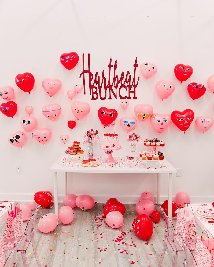 Heartbeat Brunch Valentine's Day Party on Kara's Party Ideas | KarasPartyIdeas.com (24)