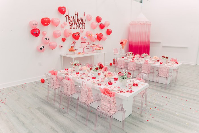 Heartbeat Brunch Valentine's Day Party on Kara's Party Ideas | KarasPartyIdeas.com (17)