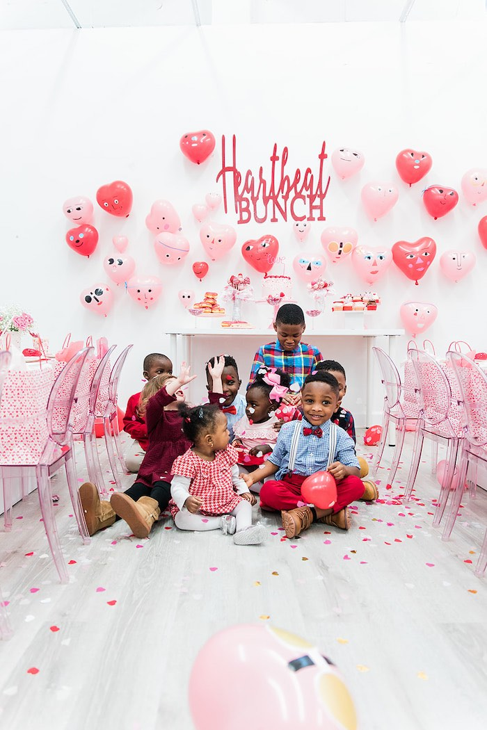 Heartbeat Brunch Valentine's Day Party on Kara's Party Ideas | KarasPartyIdeas.com (4)