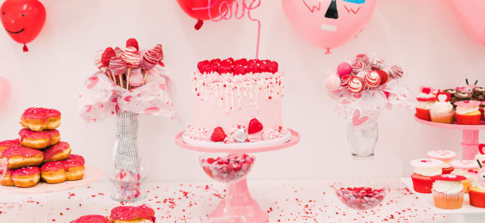 Heartbeat Brunch Valentine's Day Party on Kara's Party Ideas | KarasPartyIdeas.com (1)