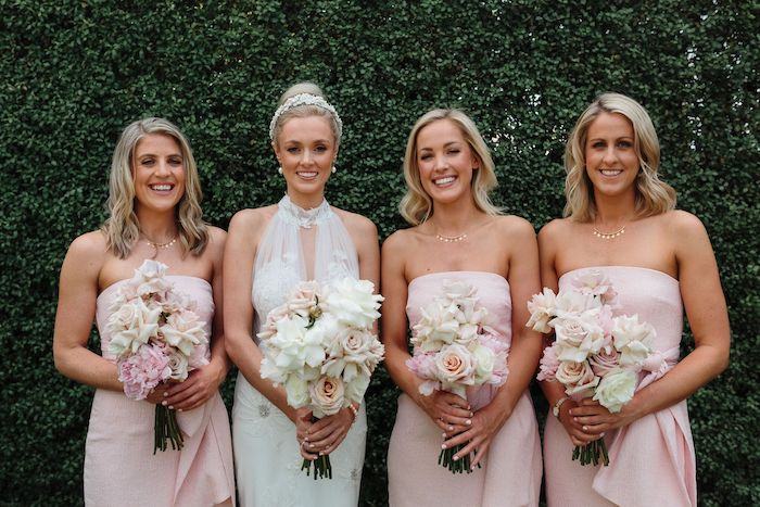 Bridal Party from a Melbourne City Wedding on Kara's Party Ideas | KarasPartyIdeas.com (22)