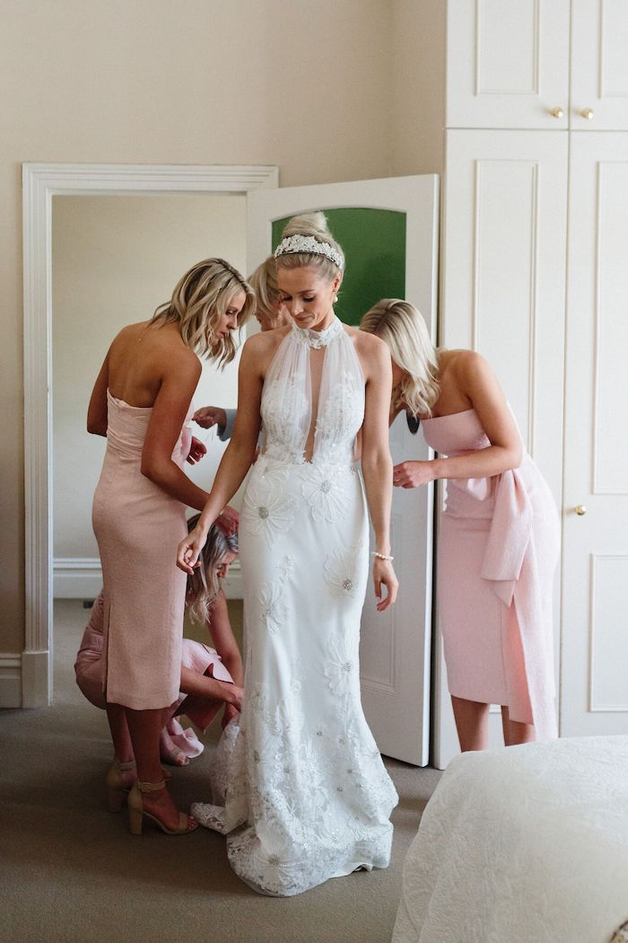Bridal Party from a Melbourne City Wedding on Kara's Party Ideas | KarasPartyIdeas.com (21)