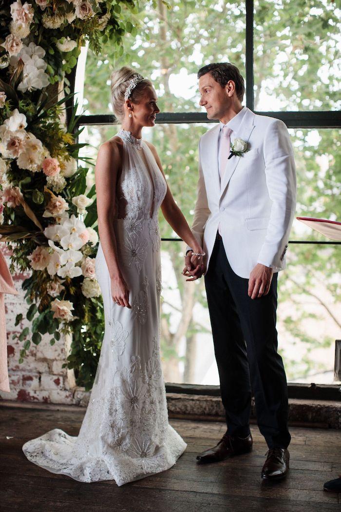 Melbourne City Wedding on Kara's Party Ideas | KarasPartyIdeas.com (18)
