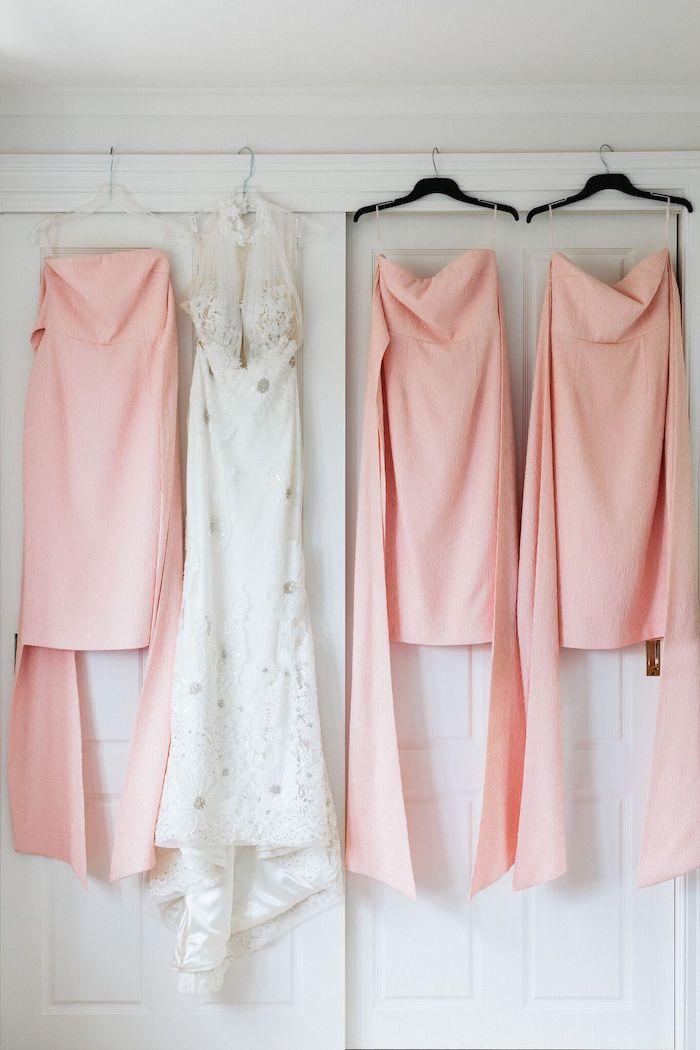 Bridal Party Dresses from a Melbourne City Wedding on Kara's Party Ideas | KarasPartyIdeas.com (13)