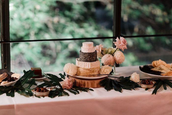 Cake Table from a Melbourne City Wedding on Kara's Party Ideas | KarasPartyIdeas.com (11)