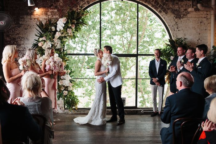 Melbourne City Wedding on Kara's Party Ideas | KarasPartyIdeas.com (10)