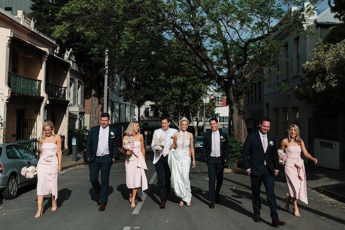Melbourne City Wedding on Kara's Party Ideas | KarasPartyIdeas.com (9)