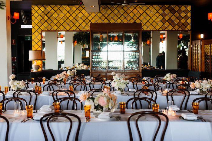 Wedding Guest Tables from a Melbourne City Wedding on Kara's Party Ideas | KarasPartyIdeas.com (8)