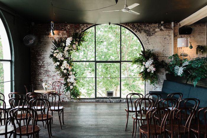 Ceremony Venue from a Melbourne City Wedding on Kara's Party Ideas | KarasPartyIdeas.com (4)
