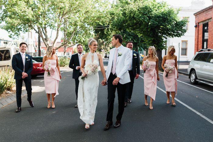 Melbourne City Wedding on Kara's Party Ideas | KarasPartyIdeas.com (28)