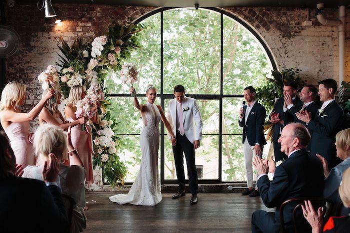 Melbourne City Wedding on Kara's Party Ideas | KarasPartyIdeas.com (26)