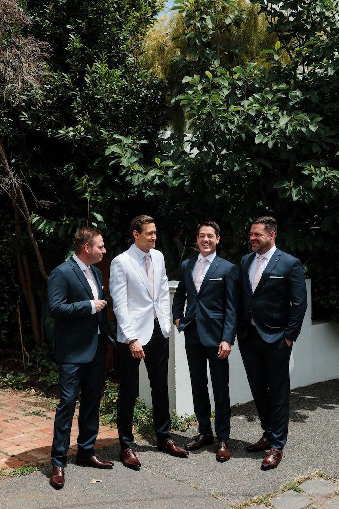Groom + Groomsmen from a Melbourne City Wedding on Kara's Party Ideas | KarasPartyIdeas.com (25)