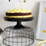 Modern Bumble Bee Dessert Table on Kara's Party Ideas | KarasPartyIdeas.com (2)