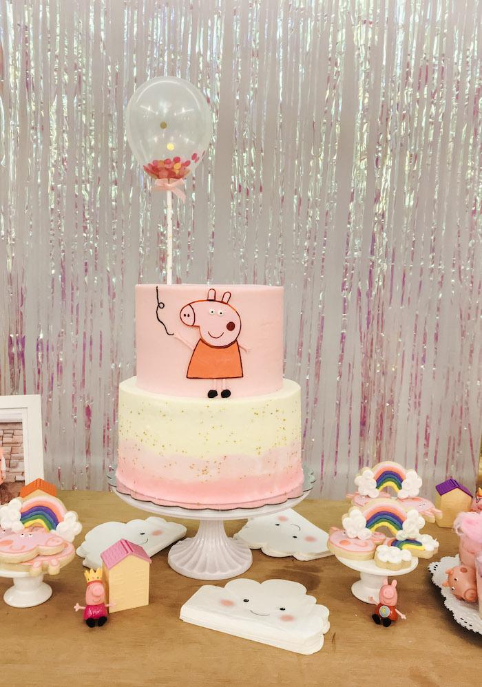 Muddy Puddles Peppa Pig Party on Kara's Party Ideas | KarasPartyIdeas.com (16)