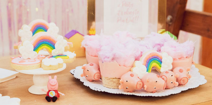 Muddy Puddles Peppa Pig Party on Kara's Party Ideas | KarasPartyIdeas.com (4)