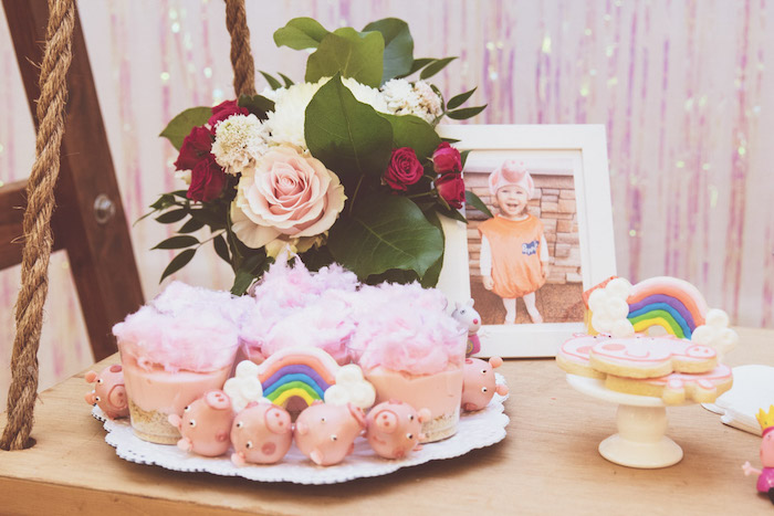 Peppa Pig Themed Sweets from a Muddy Puddles Peppa Pig Party on Kara's Party Ideas | KarasPartyIdeas.com (25)