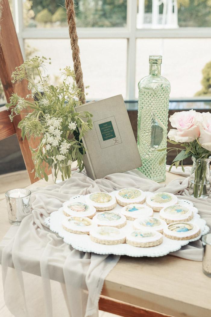 Peter Rabbit Cookies + Dessert Table Decor from a Peter Rabbit Baby Shower on Kara's Party Ideas   KarasPartyIdeas.com (28)