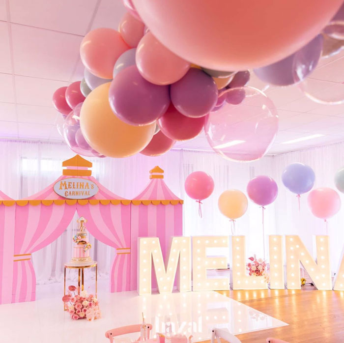 Pink Carnival Birthday Party on Kara's Party Ideas | KarasPartyIdeas.com (8)