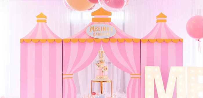 Pink Carnival Birthday Party