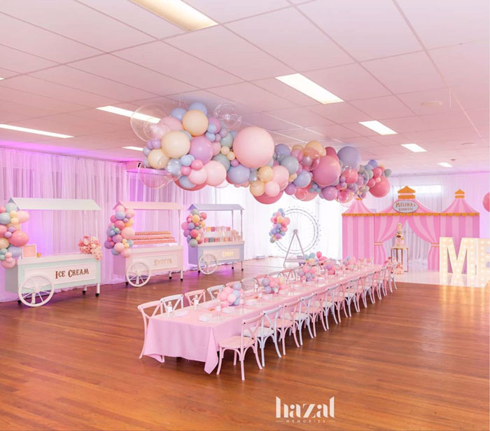 Pink Carnival Birthday Party on Kara's Party Ideas | KarasPartyIdeas.com (12)