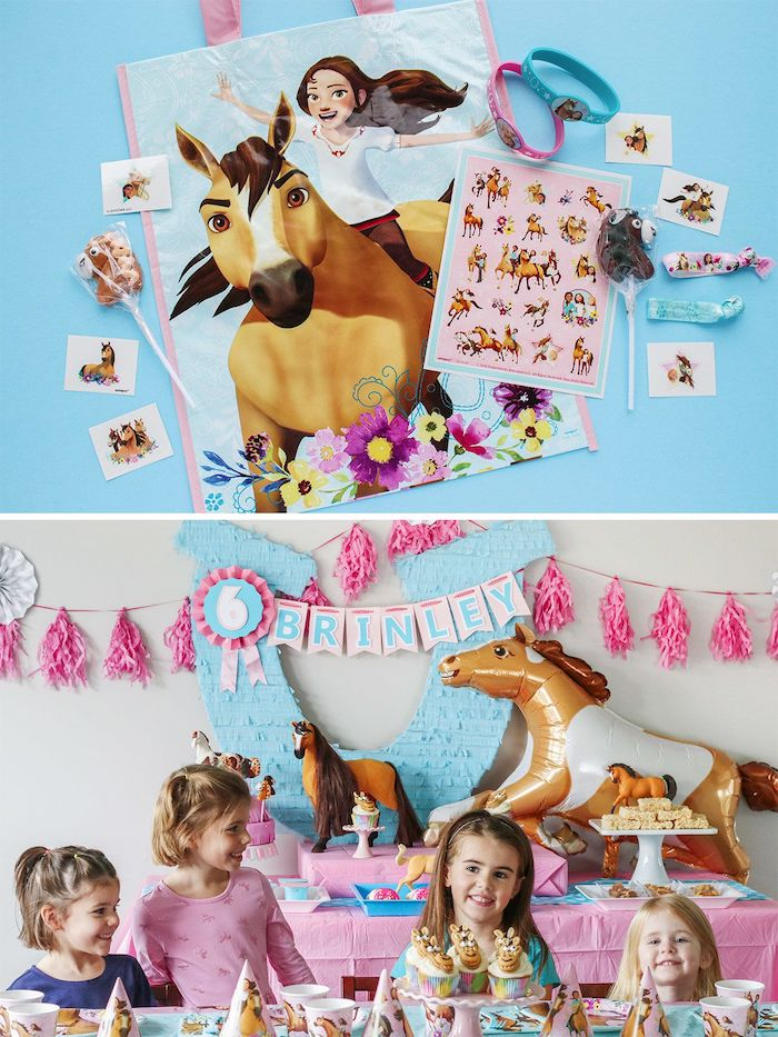 "Spirit Party Favor from a ""Spirit"" Riding Free Horse Themed Birthday Party on Kara's Party Ideas 