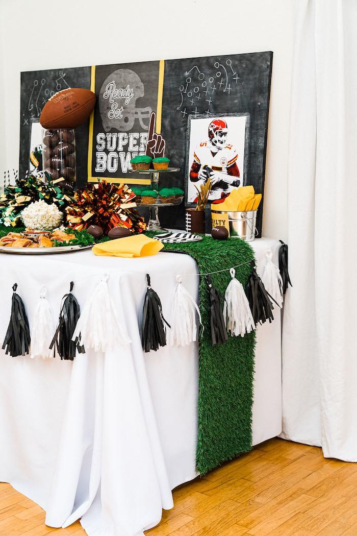 Super Bowl Football Fun Party on Kara's Party Ideas | KarasPartyIdeas.com (10)