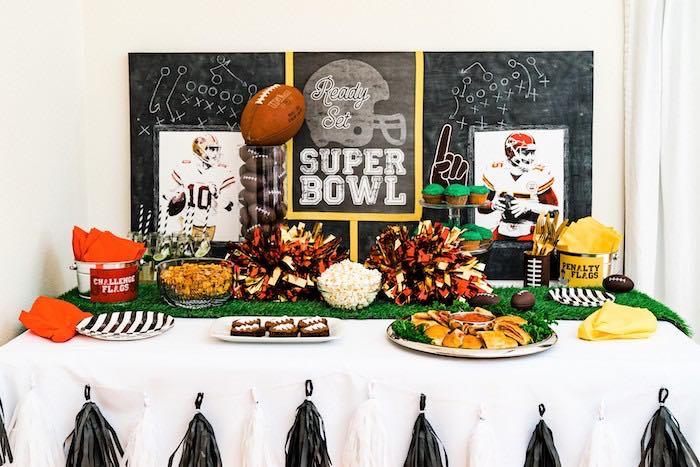 Super Bowl Football Fun Party on Kara's Party Ideas | KarasPartyIdeas.com (7)