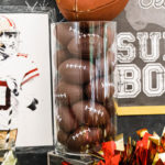 Super Bowl Football Fun Party on Kara's Party Ideas | KarasPartyIdeas.com (1)