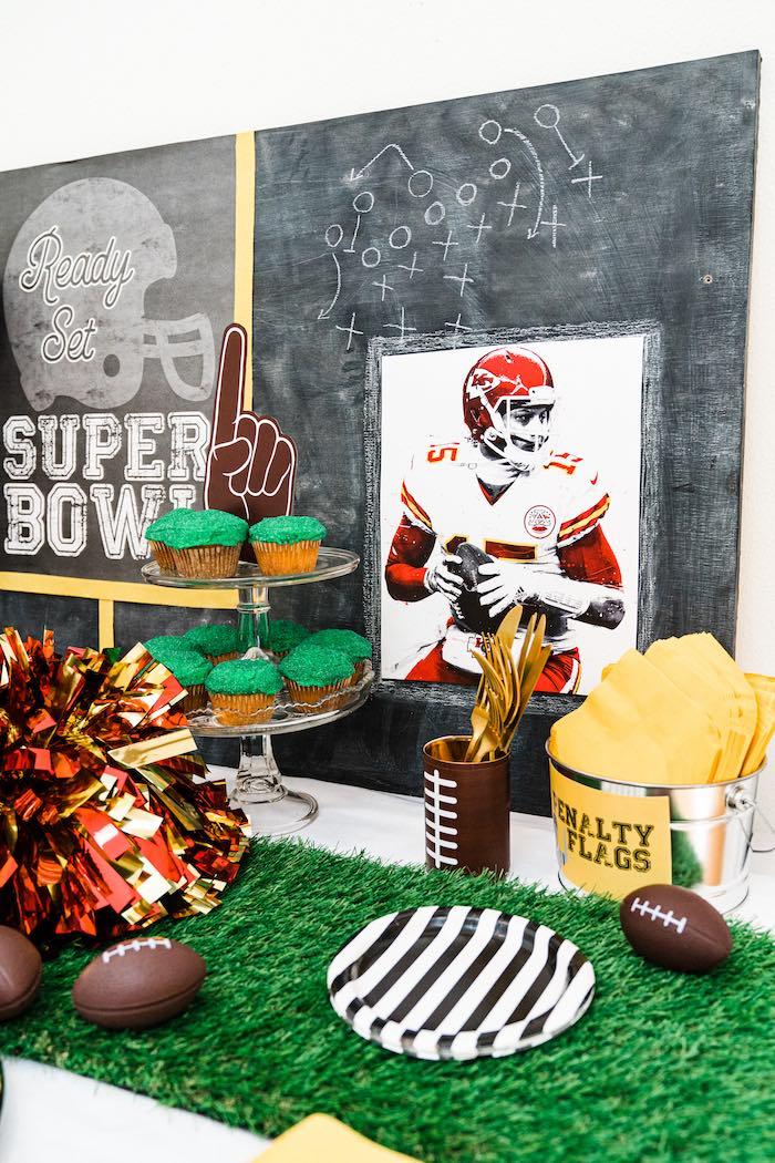 Super Bowl Football Fun Party on Kara's Party Ideas | KarasPartyIdeas.com (17)