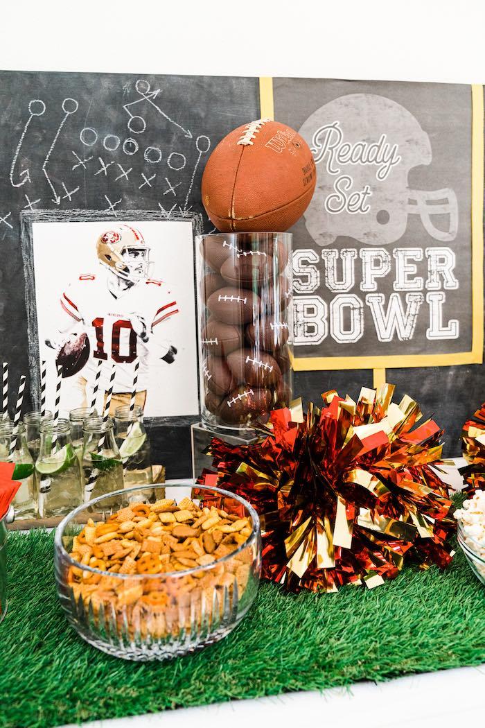 Super Bowl Football Fun Party on Kara's Party Ideas | KarasPartyIdeas.com (15)