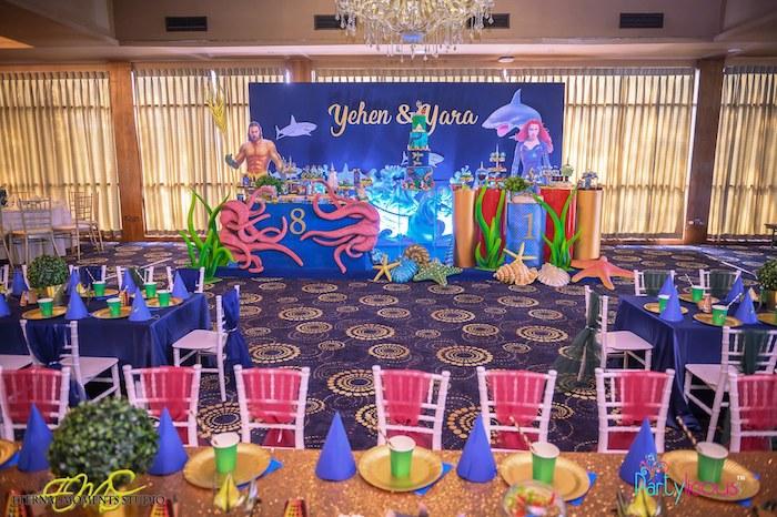 Aquaman and Princess Mera Birthday Party on Kara's Party Ideas   KarasPartyIdeas.com (34)
