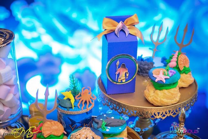 Favors + Treats from an Aquaman and Princess Mera Birthday Party on Kara's Party Ideas   KarasPartyIdeas.com (15)
