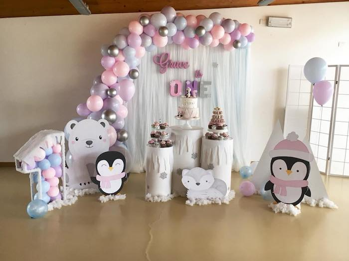 Arctic Penguin Party on Kara's Party Ideas | KarasPartyIdeas.com (9)