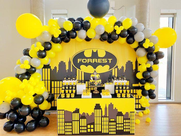 Batman Birthday Party on Kara's Party Ideas | KarasPartyIdeas.com (10)
