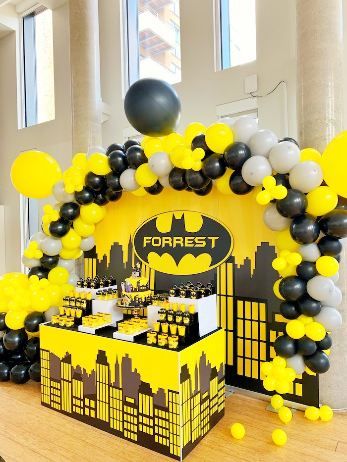 Batman Birthday Party on Kara's Party Ideas | KarasPartyIdeas.com (6)