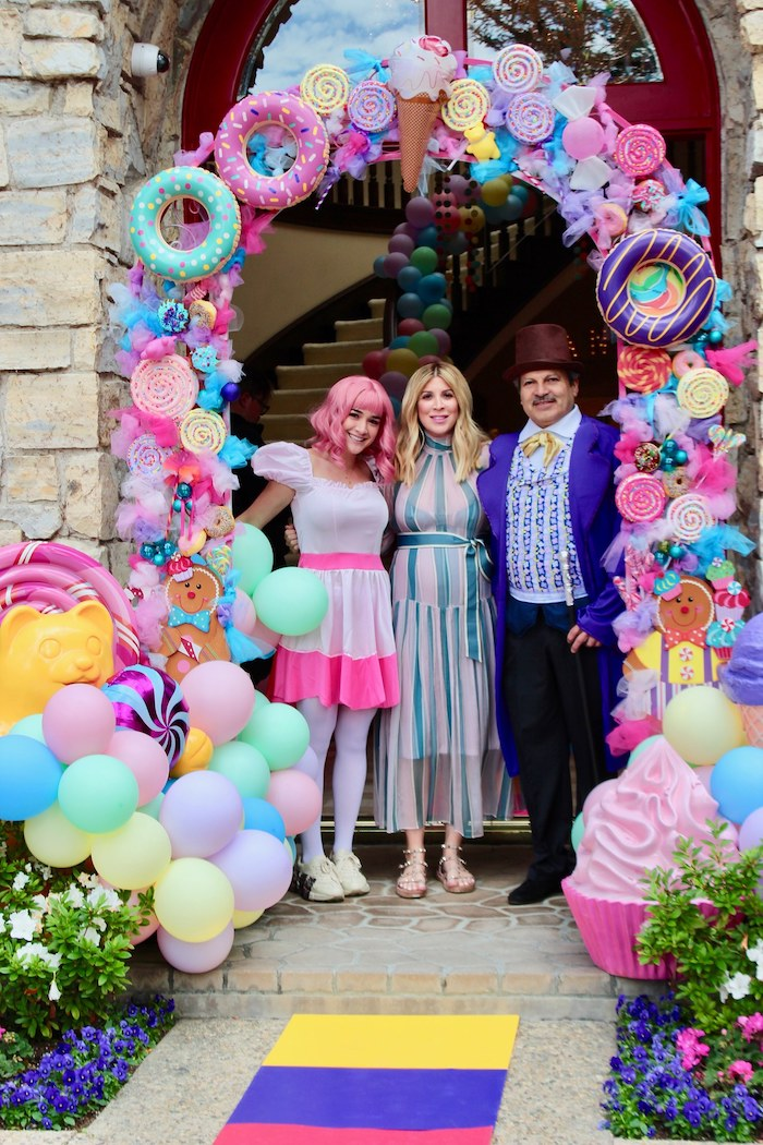Candy Themed Arch from a Candyland Birthday Party on Kara's Party Ideas | KarasPartyIdeas.com (11)