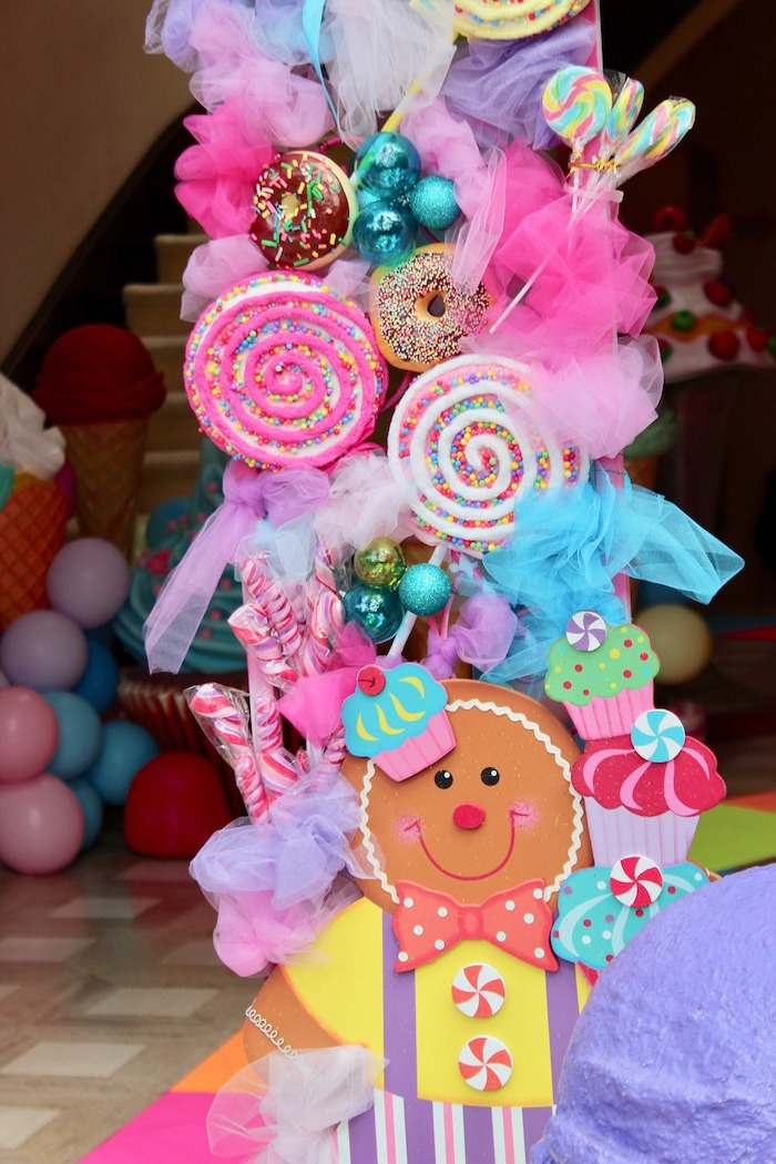 Candy Themed Arch + Install from a Candyland Birthday Party on Kara's Party Ideas | KarasPartyIdeas.com (8)