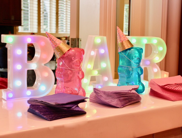 Gummy Bear Bar from a Candyland Birthday Party on Kara's Party Ideas | KarasPartyIdeas.com (24)