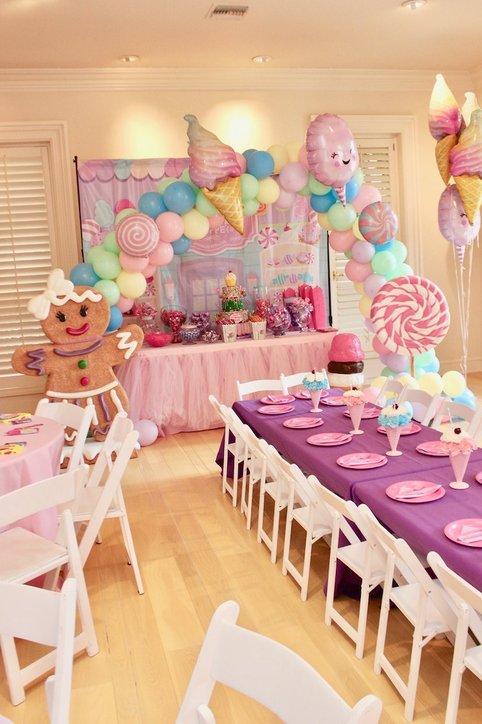 Candyland Birthday Party on Kara's Party Ideas | KarasPartyIdeas.com (22)