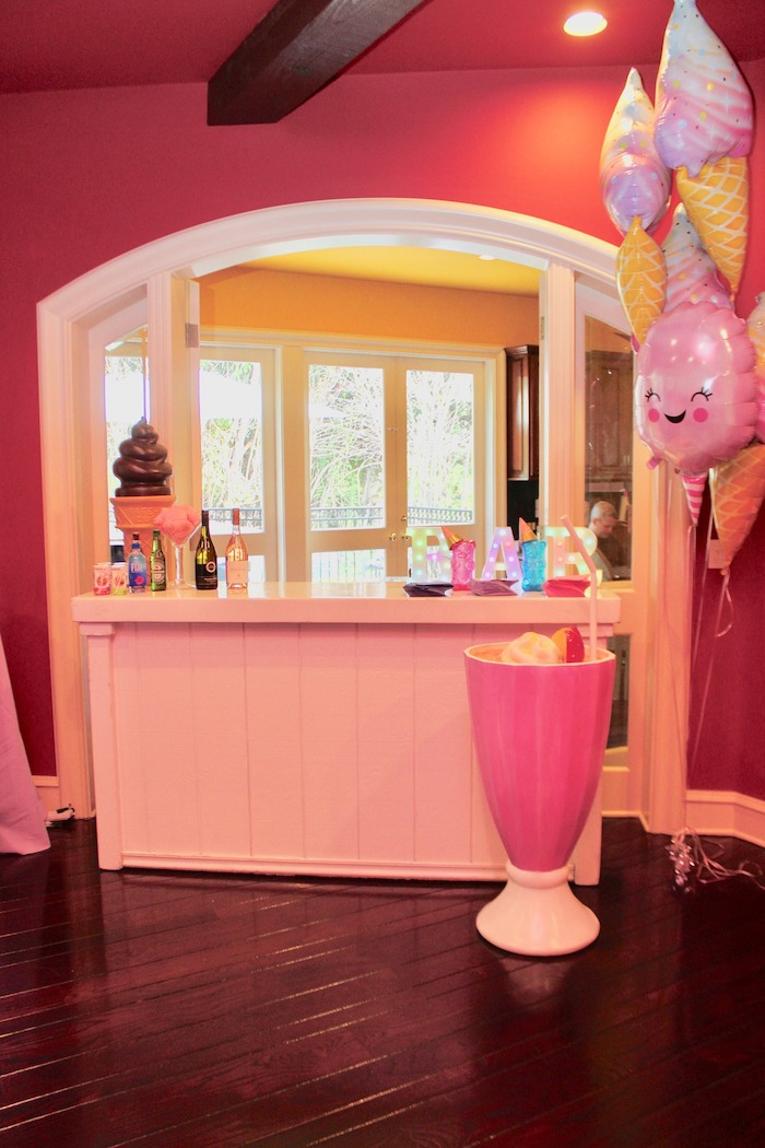 Candy-inspired Beverage Bar from a Candyland Birthday Party on Kara's Party Ideas | KarasPartyIdeas.com (19)