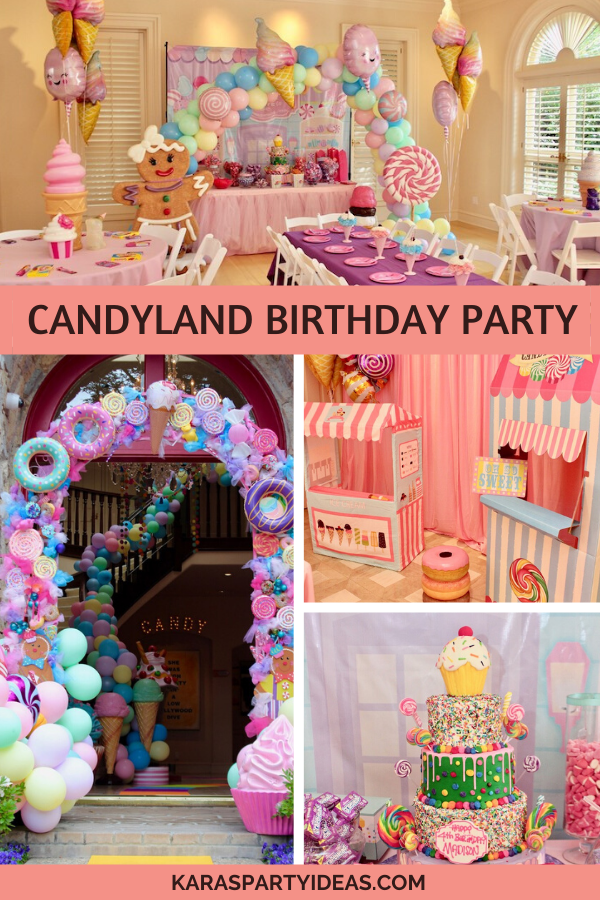 Candyland Birthday Party via Kara's Party Ideas - KarasPartyIdeas.com
