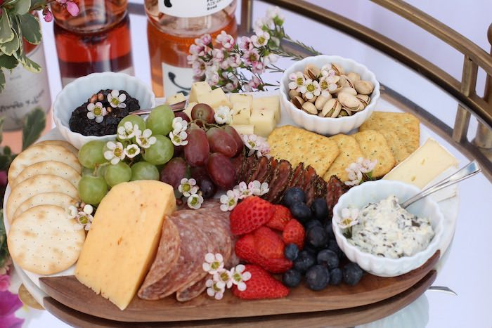 Charcuterie Board from a Celebrate Your Tribe Birthday Luncheon on Kara's Party Ideas | KarasPartyIdeas.com (24)
