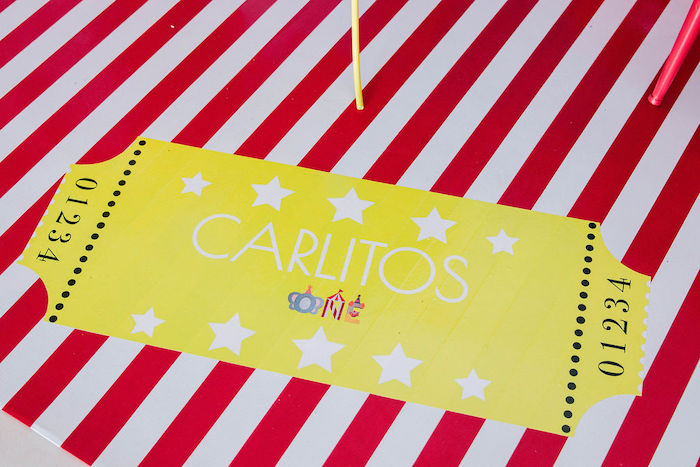 Custom Ticket from a Circus Party on Kara's Party Ideas | KarasPartyIdeas.com (17)
